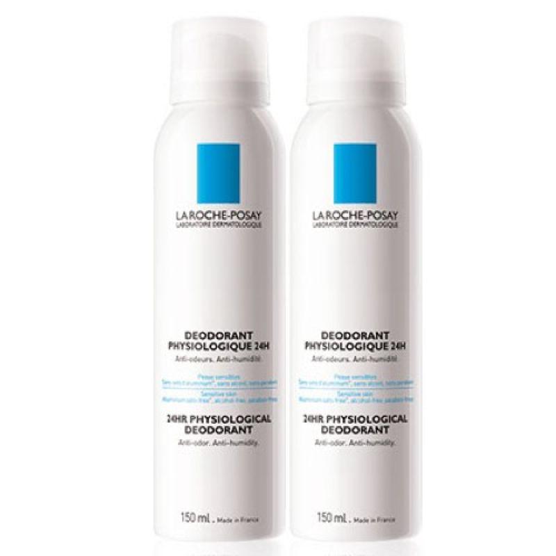 La Roche Posay Desodorante Aerosol 150 ml x2 unidades