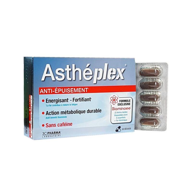 Asthéplex Aminoácidos Energía y Potencia 30 cápsulas