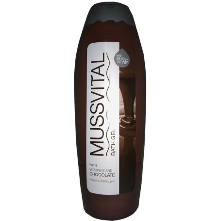 Mussvital Gel de Baño con Vitamina E y Chocolate 750ml