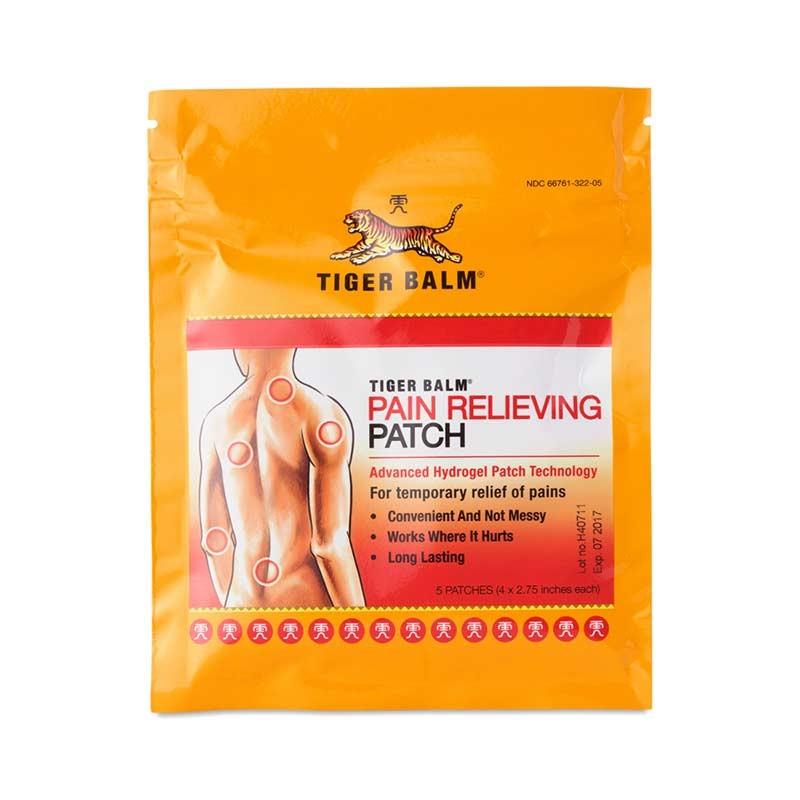 Tiger Balm 3 Parches Calor Dolor Muscular