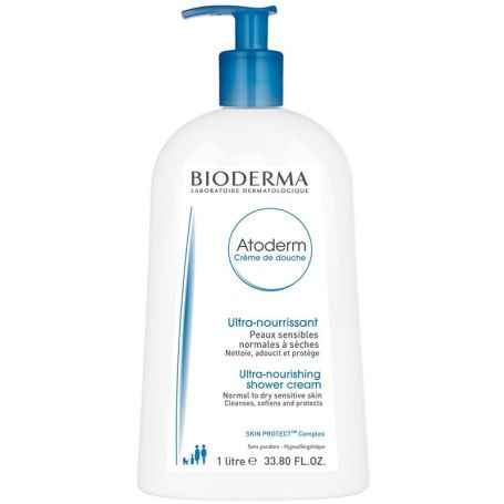 Bioderma Atoderm Crema Limpiadora de Ducha 1000ml