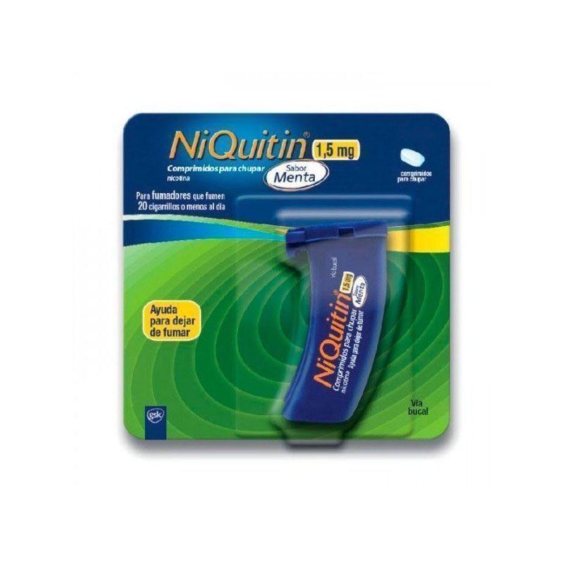 Niquitín 1.5mg sabor menta 20 comprimidos