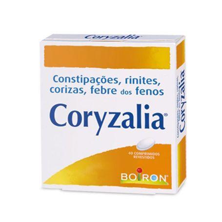 Coryzalia Tratamiento Homeopático Catarros y Rinitis 40 comprimidos