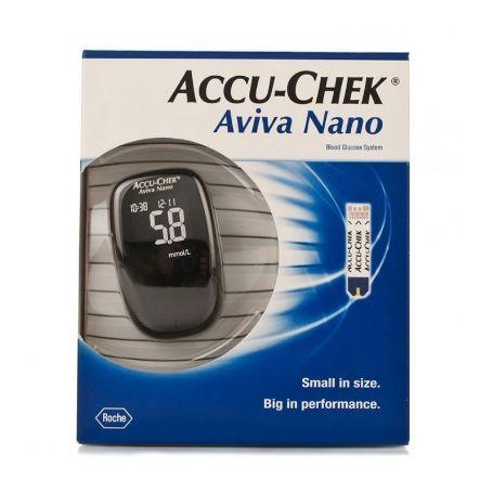 Accu-Chek Aviva Nano Medidor de Glucemia