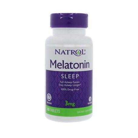 Natrol Melatonina 3mg Sleep Time Release 100 tabletas