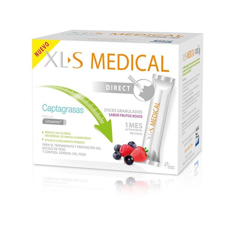 XLS Medical Direct Captagrasas 1 mes tratamiento 90 sobres
