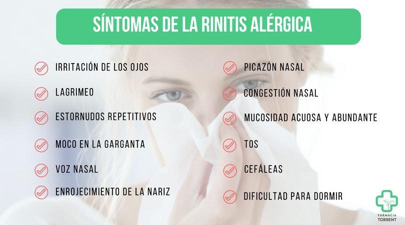 Rinitis Alérgica Causas Y Tratamientos